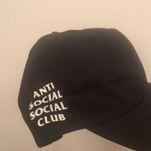 Anti social social club dad hat